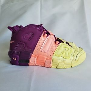 """Nike Air More Uptempo (GS) """"Lucky Charms"""" Shoe"""